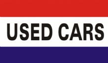 USED CARS - 5 X 3 FLAG
